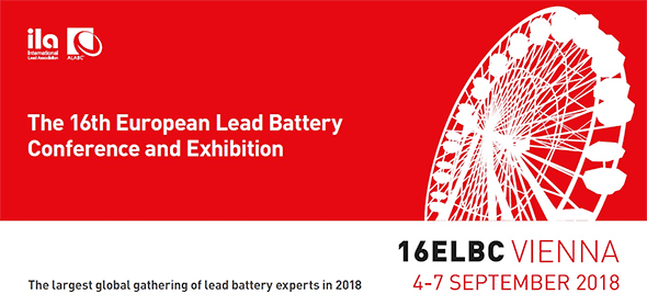 The 16th European Lead Battery Conference and Exhibition