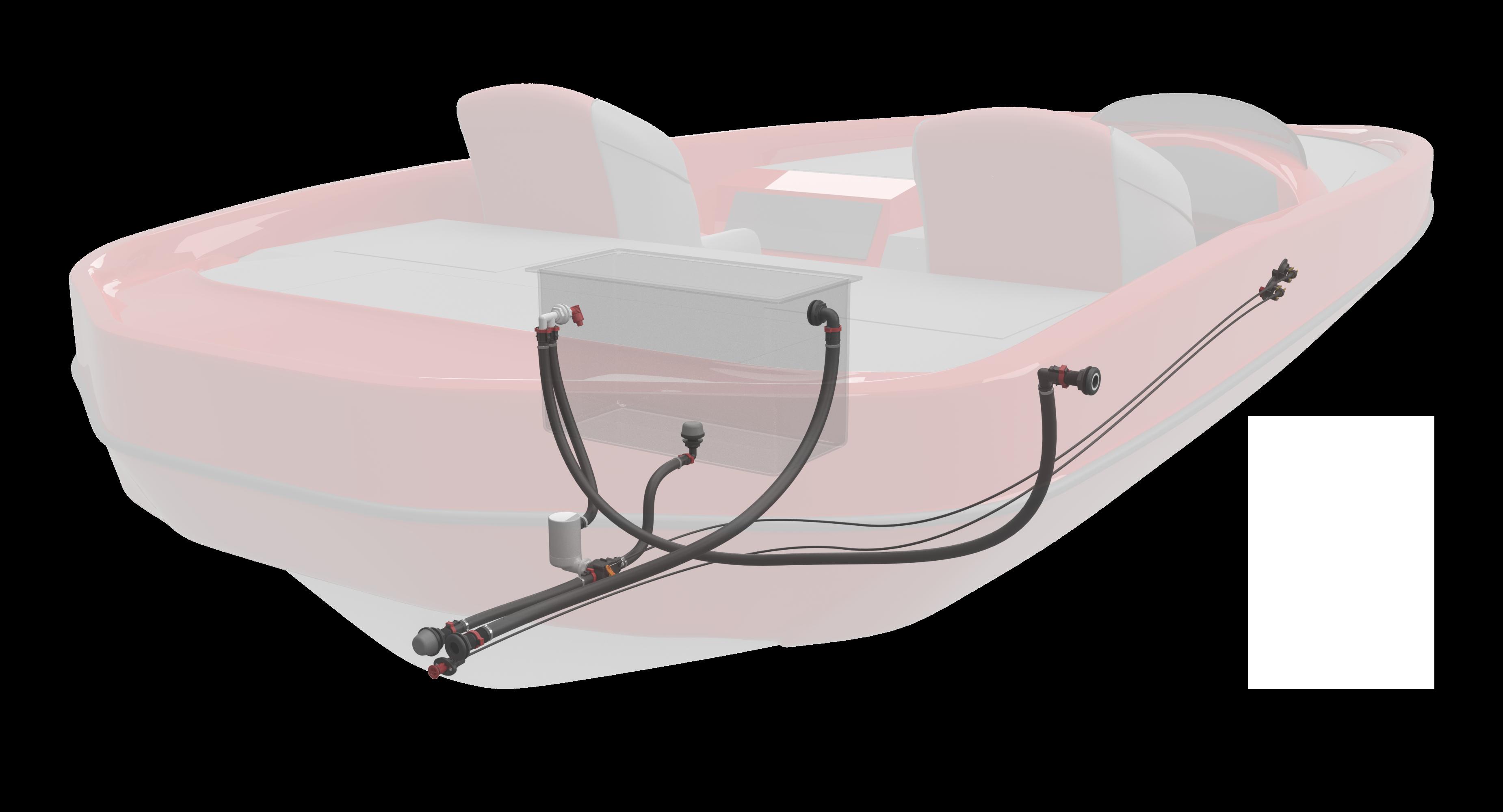 remote drain plug systen