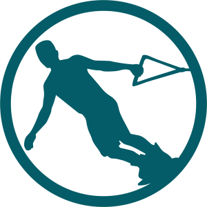 Wake board icon